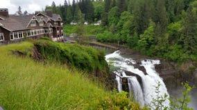 Seattle-Wasserfall Lizenzfreies Stockbild