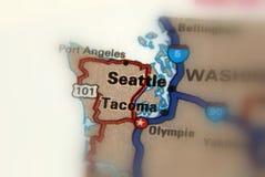 Seattle Waszyngton, Stany Zjednoczone, - U S Zdjęcia Royalty Free