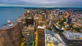 Seattle, Waszyngton, usa linia horyzontu zdjęcie wideo