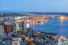 Seattle, Waszyngton, usa 2016/04/08: piękny widok puszka miasteczko Fotografia Royalty Free
