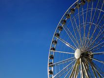 Seattle Water Front Ferris Wheel royalty free stock photography