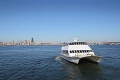 Seattle Water Taxi, Alki Beach Royalty Free Stock Photos