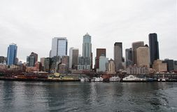 Seattle Waterfront Royalty Free Stock Photo