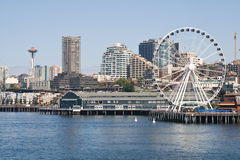 Seattle Waterfront Royalty Free Stock Photos