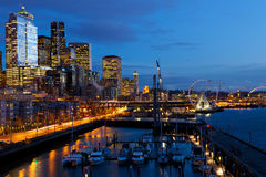 Seattle waterfront Stock Photography