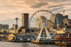 Free Seattle Waterfront Royalty Free Stock Image - 57889056