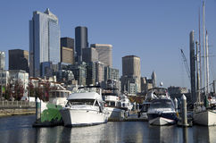 Free Seattle Waterfront Boatyard Stock Photography - 34437612