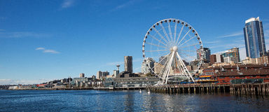 Seattle Waterfront Stock Photo