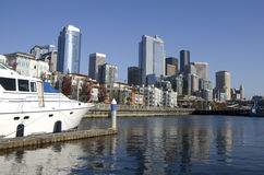 Seattle Waterfront Royalty Free Stock Photography