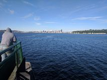Seattle waterfront royalty free stock image