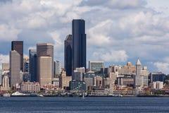 Seattle Waterfront Skyline Stock Photography