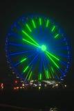 Seattle Wheel Blue Friday Pre Superbowl stock photos