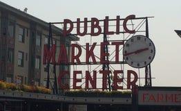 Seattle& x27 σημάδι θέσεων λούτσων του s Στοκ εικόνα με δικαίωμα ελεύθερης χρήσης