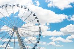 Seattles großer Ferris Wheel lizenzfreie stockfotografie
