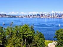 SeattleView royalty-vrije stock foto