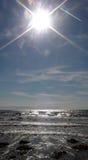Seau и солнце стоковое фото rf
