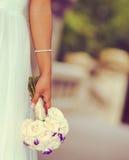 Seau de jeune mariée Image libre de droits