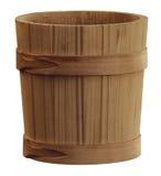 Seau en bois images libres de droits