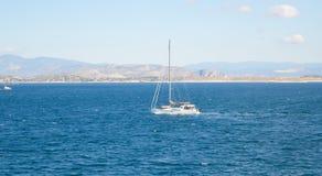Seaview över den Saronic golfen i Grekland Arkivbilder