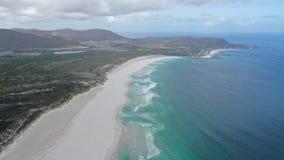 Seaview με ένα dron στο Καίηπτάουν στοκ φωτογραφίες με δικαίωμα ελεύθερης χρήσης