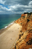 Seaview of Algarve, Portugal Stock Photography