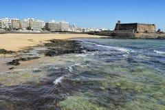 Arrecife και Castle του SAN Gabriel, Lanzarote, Κανάρια νησιά, S Στοκ φωτογραφίες με δικαίωμα ελεύθερης χρήσης