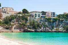 Seaview Bezirk, Majorca, Spanien Stockbild