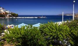 Seaview bij het dorp van Bali Royalty-vrije Stock Fotografie