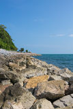 Seaview in Chantaburi,Thailand Stock Images