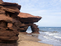 Seaview Coast Arch, PEI, Canada Royalty Free Stock Photo