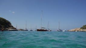 Seaview da água Imagem de Stock
