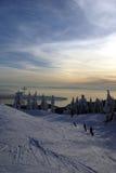 Seaview della montagna del Cypress Fotografia Stock Libera da Diritti