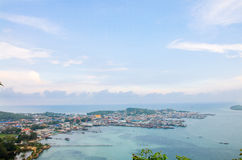 Seaview di Samae san Fotografie Stock Libere da Diritti