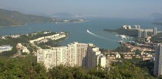 Seaview at Discovery Bay. Great seaview at Discovery Bay ,Hong Kong Royalty Free Stock Photo