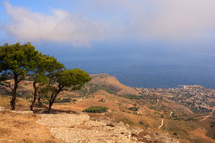 Seaview from Erice Stock Photos
