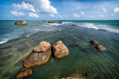 Seaview from the fort of Galle Royalty Free Stock Images