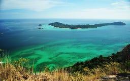 Seaview från kullen Royaltyfri Bild