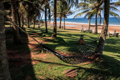 Seaview hammock. Let's chill out with seaview hammock stock image