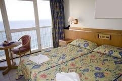 Seaview Hotelzimmer Malta Lizenzfreies Stockbild
