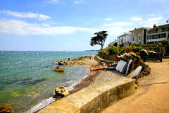 Seaview, Isle of Wight. The beach and seafront at SeaView, Isle of Wight, England, UK Royalty Free Stock Photography