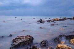 Seaview am Morgen Lizenzfreie Stockfotos