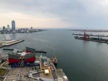 Seaview od Ferris koła Fotografia Royalty Free