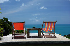 Seaview. On the Samui island, Thailand Royalty Free Stock Photography