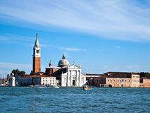 Seaview of San Macro Church at Venice Italy Stock Image