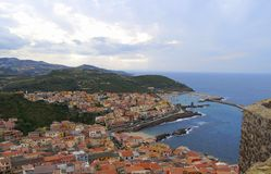 Seaview Sardegna Stock Photography