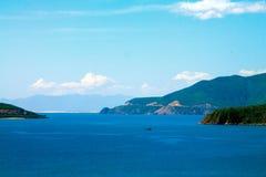 Seaview. Scenic seaview in Vietnam, Nha Trang Royalty Free Stock Photos