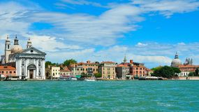 Seaview of Venice, Italy . Panorama Royalty Free Stock Photography