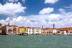 Seaview of Venice, Italy . Panorama Stock Image