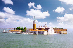 Seaview of Venice, Italy . Panorama Royalty Free Stock Images
