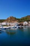 Seaview view at island Susak in Croatia Stock Photography